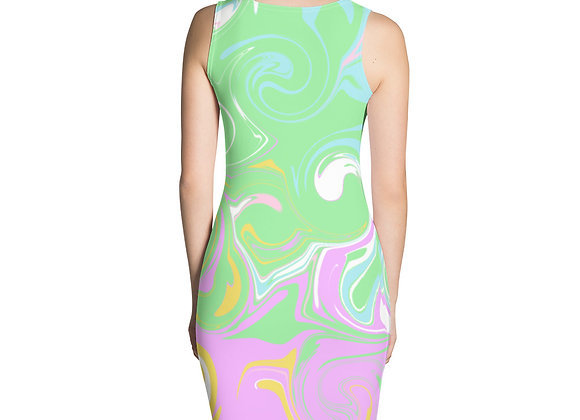 Pastels Fitted Dress