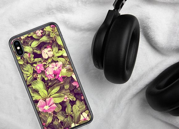 Catharansus Roseus iPhone Case