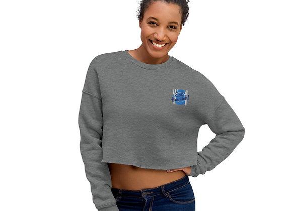 Eat the Rich! Crop Sweatshirt