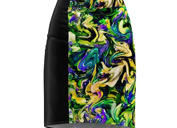 Phasianidae Pencil Skirt
