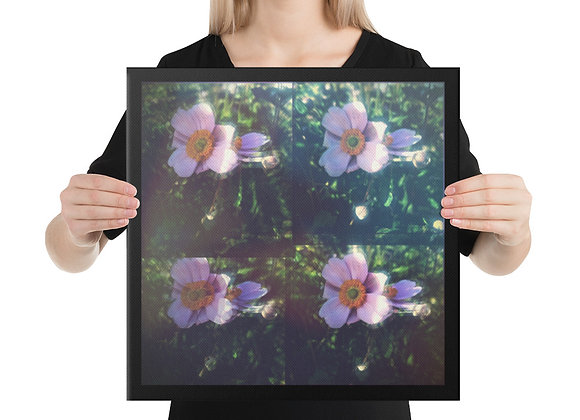Anemone on Canvas