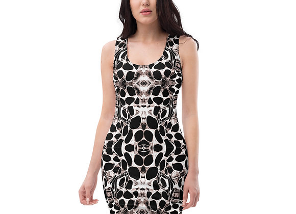 Trypophobia Fitted Dress
