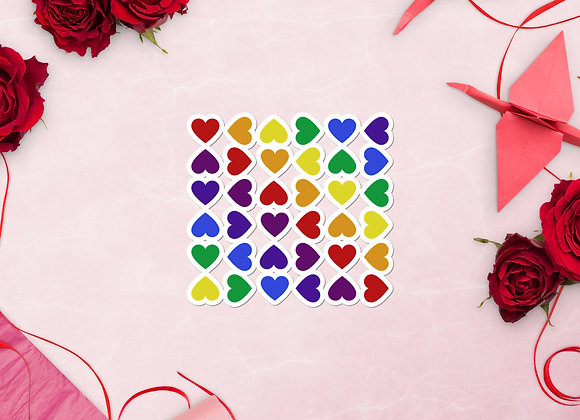 Change of Heart Sticker