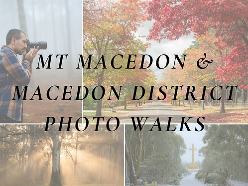 Macedon &  Mt Macedon District Photo Walk