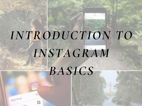 Instagram Basics For Business - Class