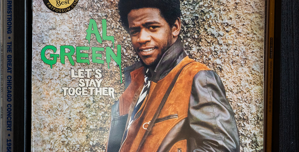 Al Green ‎– Let's Stay Together (LP)