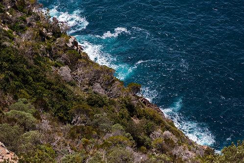 'Coastal Cliffs' Fine Art Print