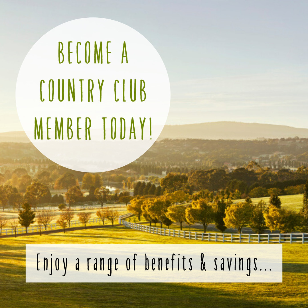 Become a country club member at Hidden Valley Resort just 45 minuets north of Melbourne