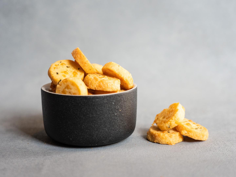 Parmesan & Rosemary Crisps