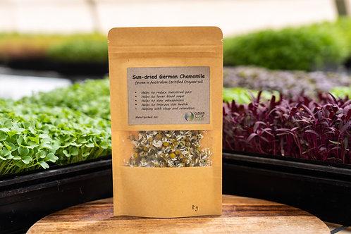 Tea: Sun-dried German/Roman Chamomile