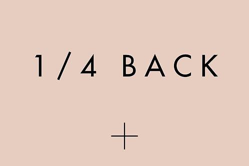 1/4 Back Laser Treatment