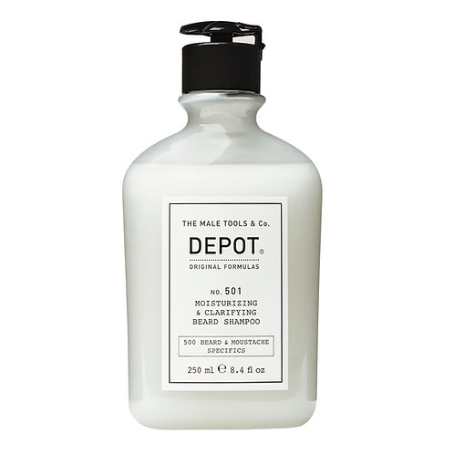 Depot No. 501 Moisturising & Clarifying Beard Shampoo 25ml