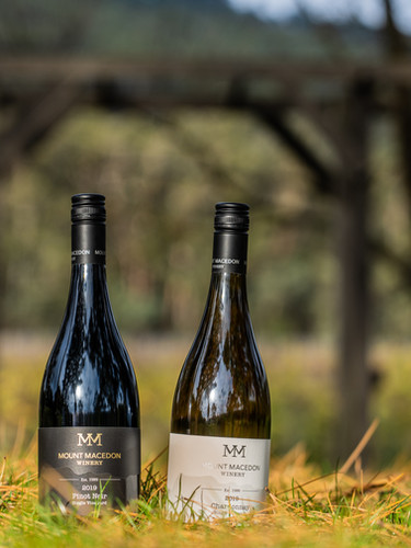 Mount Macedon Winery Pinot Noir and Chardonnay