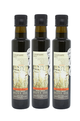 Extra Virgin Olive Oil -250ml Bottle - 3 PACK