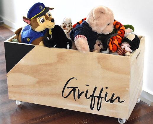 Custom Plywood Toy Box - Large
