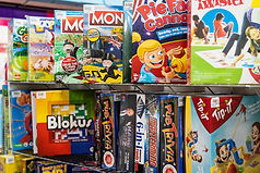 Woodend Newsagency board games