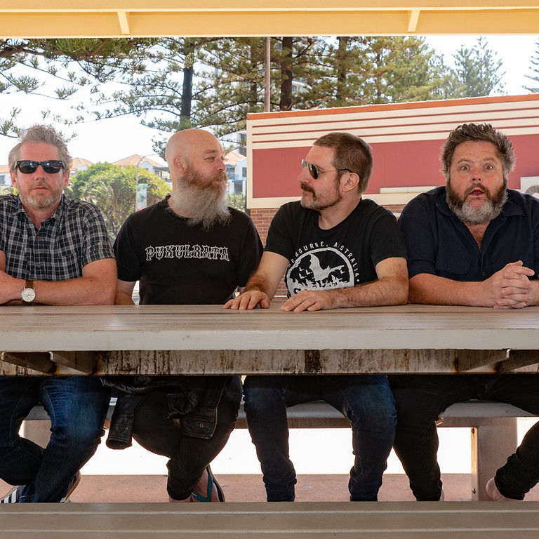 The Meanies live at Macedon Railway Hotel
