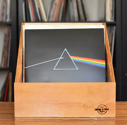 "Tapered 12"" Vinyl Record Display Box"