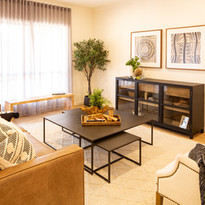 Premium open living area of a Villa at La Dimora retirement community