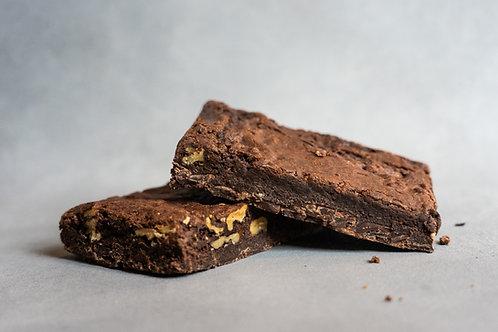 Brownie - Dark Chocolate & Walnut from Mount Macedon Trading Post Cafe