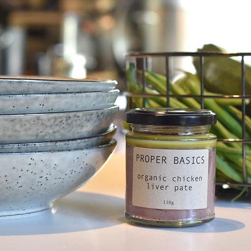 Proper Basics Organic Chicken Liver Pate 130g