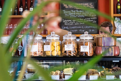 Selection of housemade treats and cookies at Mount Macedon Trading Post Cafe