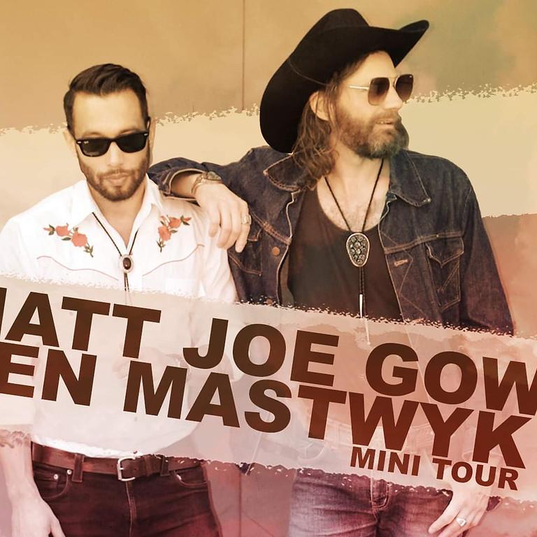 Matt Joe Gow & Ben Mastwyk at The Railway (FREE GIG)