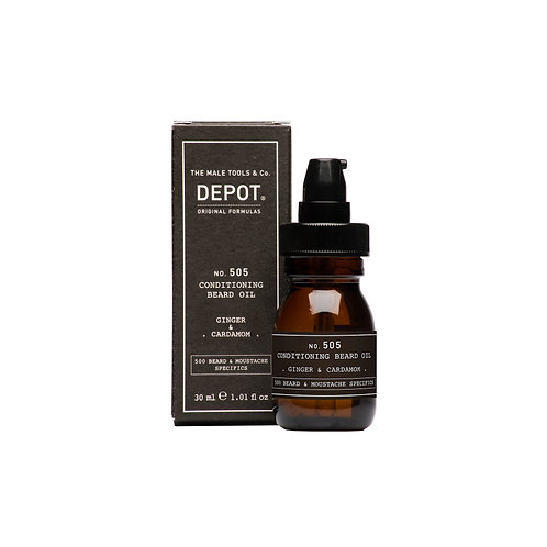 Depot No.505 Conditioning Beard Oil -  Ginger & Cardamon30ml