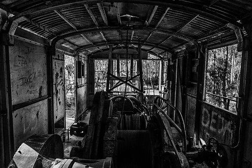 'Abandoned Crane' Fine Art Print