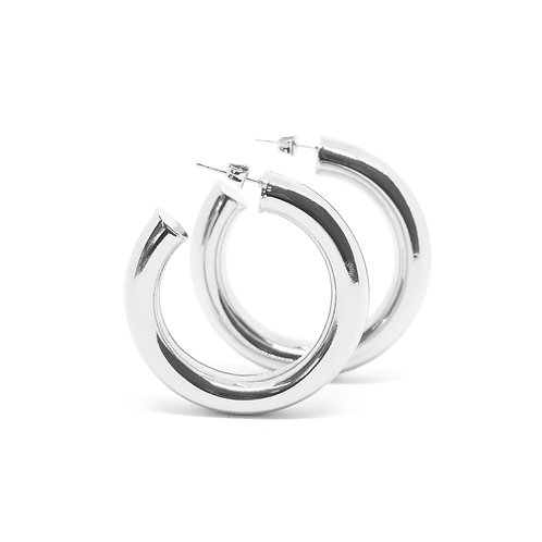 Cicciolina Hoops (Polished)