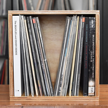 "Standard 12"" Vinyl Record Display Box"