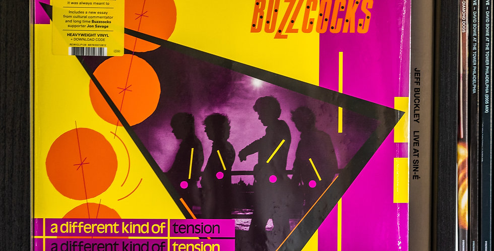 Buzzcocks ‎– A Different Kind Of Tension (LP)