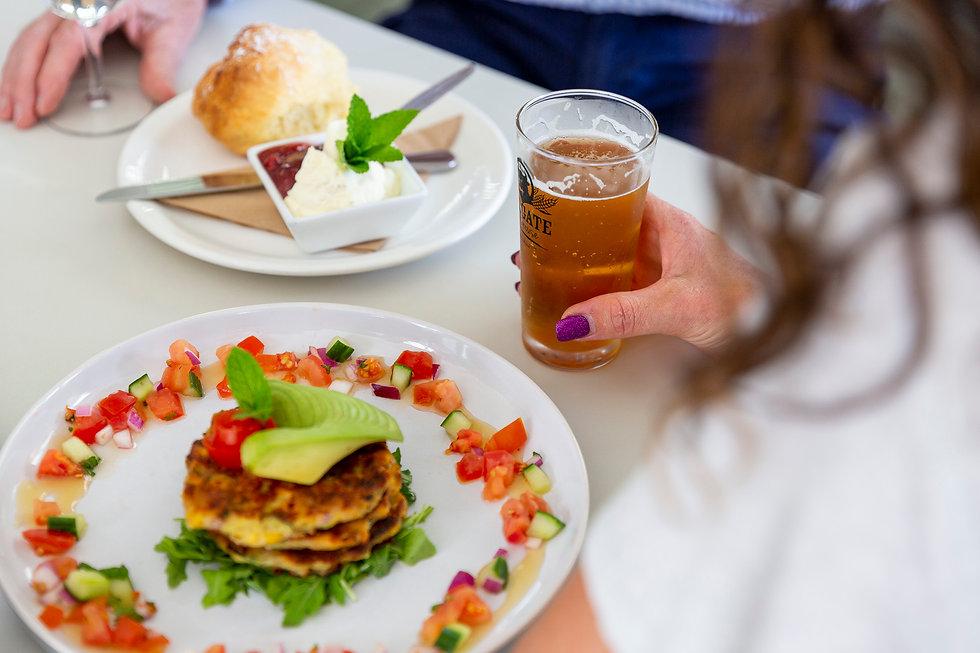 Fresh and seasonal local food, Hangng Rock Cafe, Woodend, Macedon Ranges