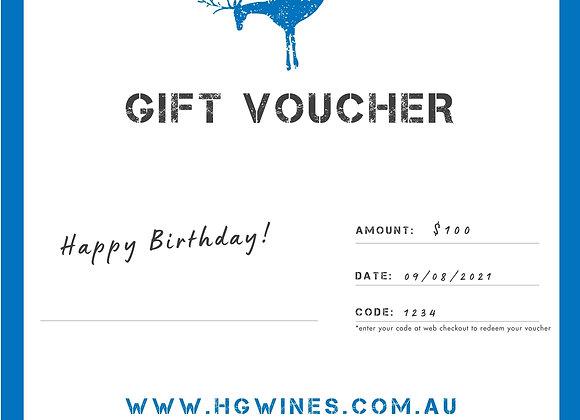 Digital Gift Voucher (from $40)