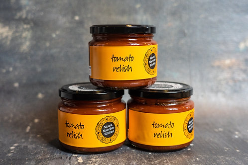 House made Tomato Relish from Mount Macedon Trading Post Cafe