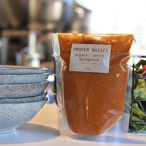 Proper Basics Organic Lentil Bolognese 500g