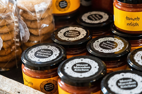 Mount Macedon Kitchen award winning range of sauces and products