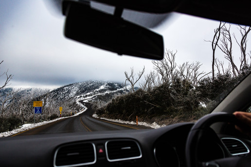 The road to Hotham