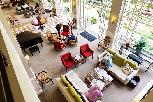 Luxury spacious communal area in Rylands premium retirement village