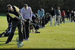 Corporate golf days at Hidden Valley resort country club just 45 minutes from Melbourne