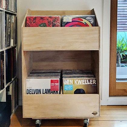 2 x 2 Vinyl Record Display Cabinet