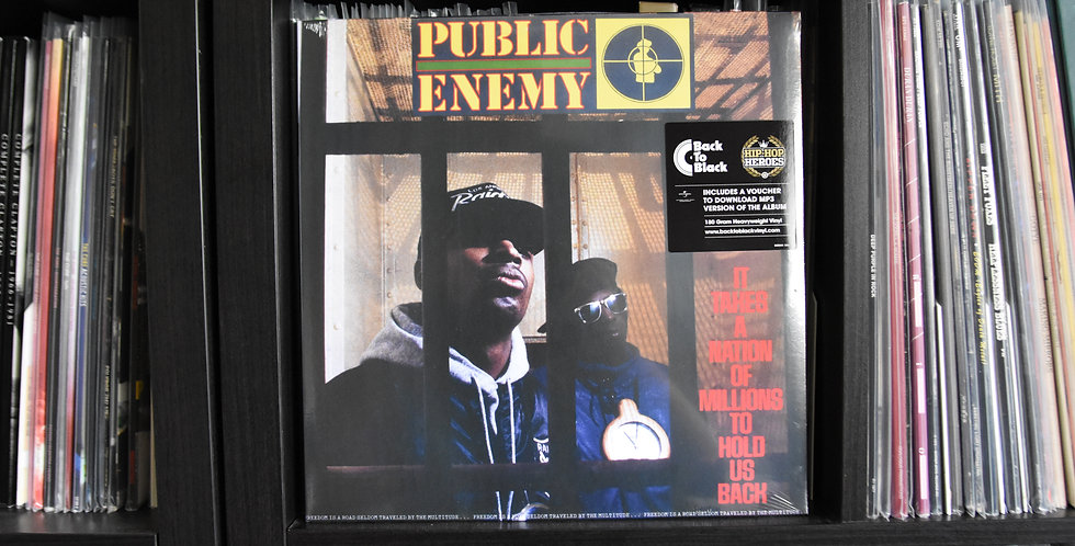 Public Enemy ‎– It Takes A Nation Of Millions To Hold Us Back (LP)