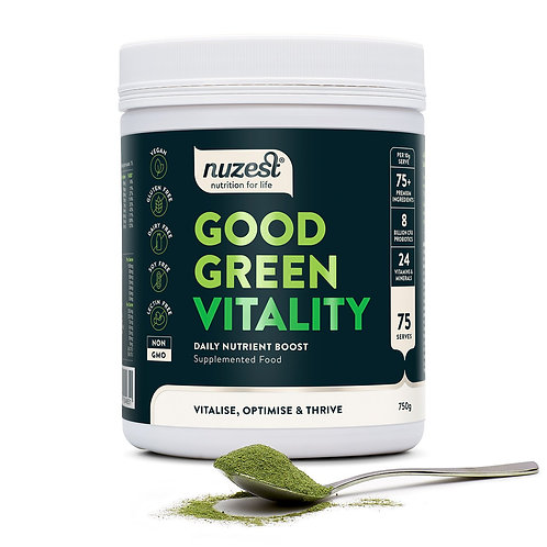 Nuzest Good Green Vitality 750g (75 days)