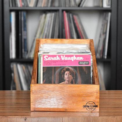"Tapered 7"" Vinyl Record Display Box"