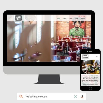 Fook Shing Website design by KGMG Creative Macedon Ranges