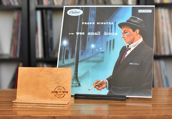 """""""Now Playing"""" Vinyl Record Display Stand"""