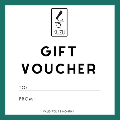 Kuzu Gift Voucher (from $50)