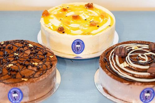 Ice Cream/Sorbet Cake - (2 flavours)