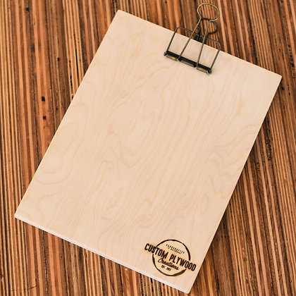 Custom Plywood A5 Clipboard