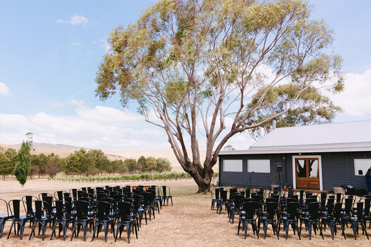 Hunter Gatherer Winery, Country Wedding Venue, Macedon Ranges